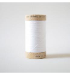Bobine de Fil 100% Coton Bio - Blanc