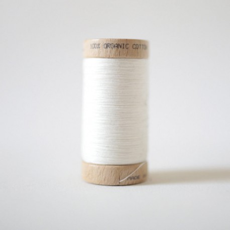 Bobine de Fil 100% Coton Bio - Naturel