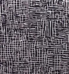 Viscose Lines Noir & Blanc