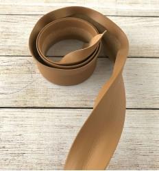 Biais simili cuir - Caramel