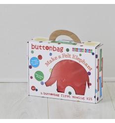 Mon premier kit couture Buttonbag - Elephant