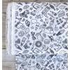 Tissu Icônes Noir & Blanc