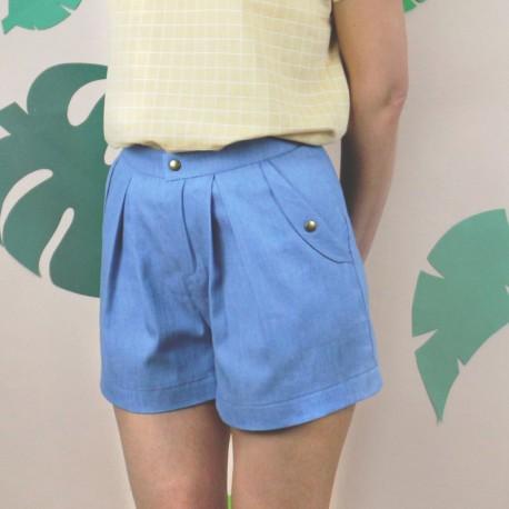 Schnittmuster für Damen - Shorts Allister Marke: République du Chiffon
