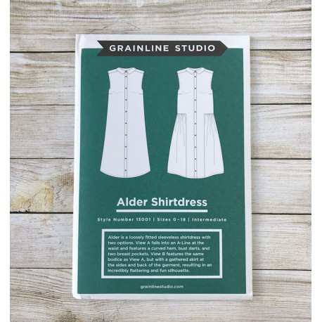Alder Shirtdress - Grainline Studio