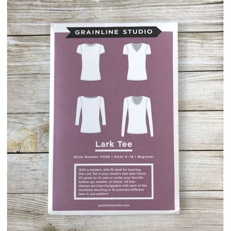 T-shirt Lark - Grainline Studio