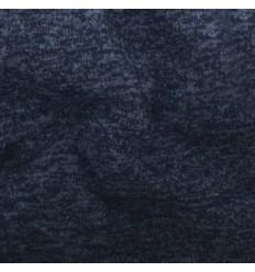 Maille Jaspé Blue, noir