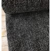 Lainage tweed noir/gris