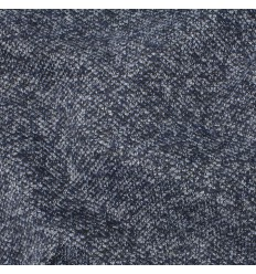 Maille style tweed - bleu chiné