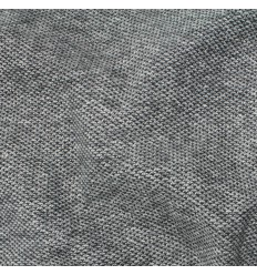 Maille style tweed - gris chiné
