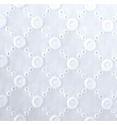Broderie Anglaise - Blanc