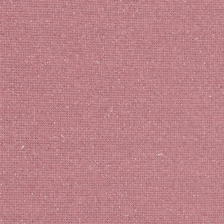 Bord côte Lurex Rose / Argent
