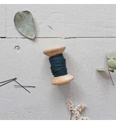 Biais Crêpe Forest - Atelier Brunette