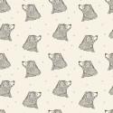 Jersey Curious Bear - Crème