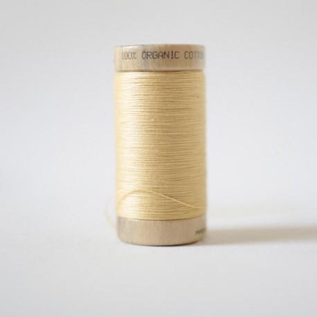 Bobine de Fil 100% Coton Bio - Paille