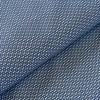 Coton élasthane bleu graphique