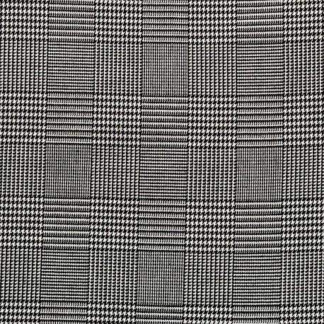 tissu carreaux prince de galles pour coudre des robes. Black Bedroom Furniture Sets. Home Design Ideas