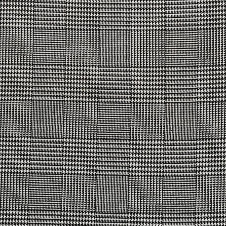 Prince Of Wales Check Glen Plaid Fabric Checked Fabric