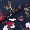 Viscose Flowers - Red