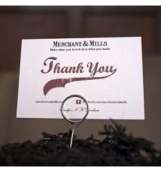 Epingles de présentation - Merchant & Mills