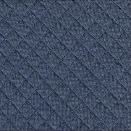 Jersey matelassé bleuet - France Duval Stalla