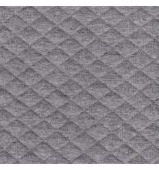 Jersey matelassé gris chiné - France Duval Stalla
