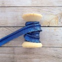 Piping trim in Blue Glitter