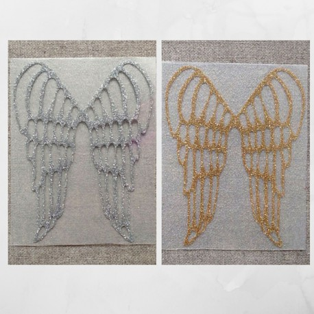 Angel wings Appliqué - Madame Mademoiselle