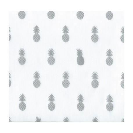 A Nana's Fabric Silver - Chantilly
