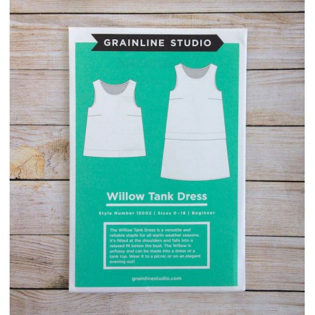 Willow tank dress - Grainline Studio