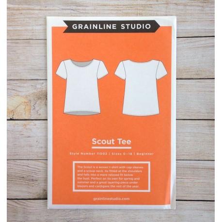 Scout Tee - Grainline Studio