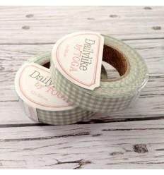 Fabric tape in gingham mint - Dailylike