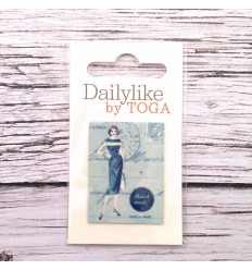 "Dailylike label ""Evening"""
