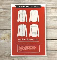Archer Hemd - Grainline Studio