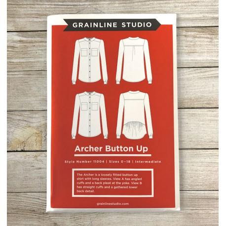 Archer Button Up - Grainline Studio