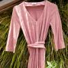 Viscose jersey knit in Rose - La Maison Victor