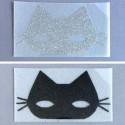 Appliqué Cat Mask - Madame Mademoiselle