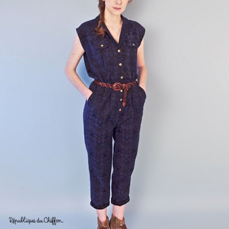 Dominique jumpsuit - Republique du Chiffon