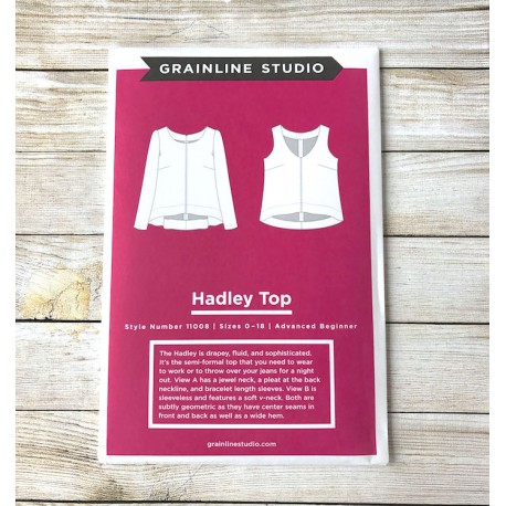 Top Hadley - Grainline Studio