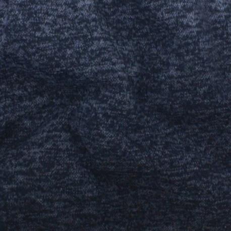 Sweat Jaspé Blue, noir