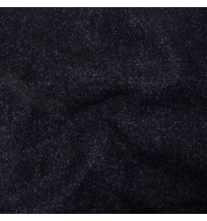 COUPON 135CM Lainage noir, bleu