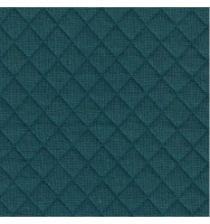 REMNANT 82CM Teal Quilted Jersey - France Duval Stalla