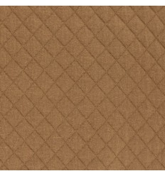 REMNANT 45CM Caramel Quilted Jersey - France Duval Stalla