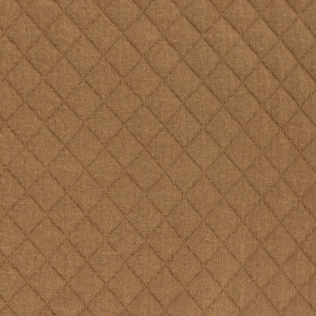 Caramel Quilted Jersey - France Duval Stalla