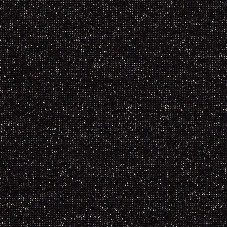 Bord côte Lurex Noir / Argent