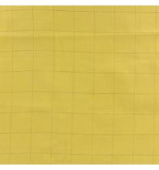 Double Gauze Banana, Gold Plaid - France Duval Stalla