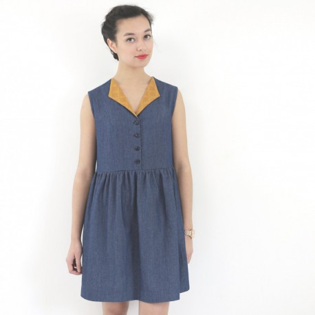 Prune dress - Republique du Chiffon
