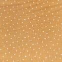 Double Gauze - Mustard, stars