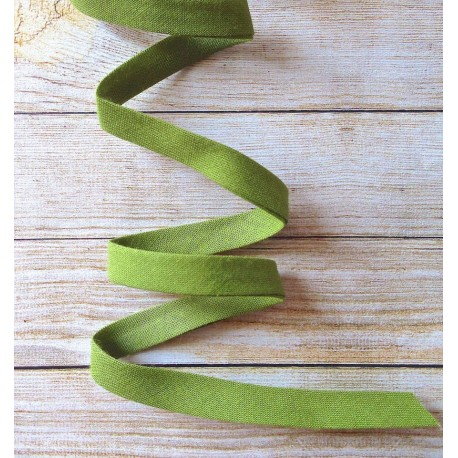 Bias binding - Anise Green