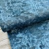 Panne de Velours - Bleu