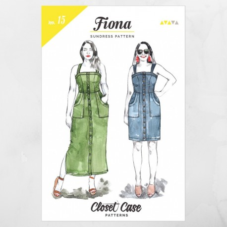 Fiona dress - Closet Case Patterns